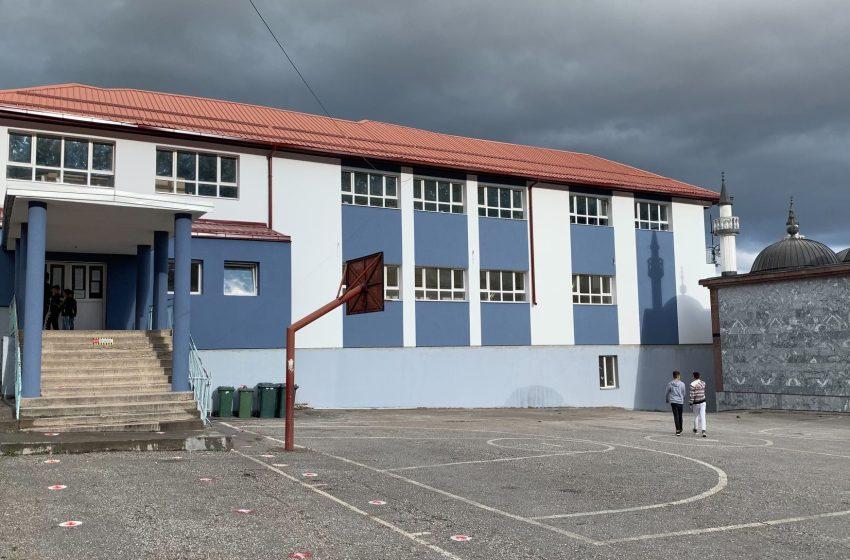 """Основното училиште """"Мурат Лабуништи"""" од Лабуништа подготвено за настава во услови на пандемија (Видео)"""